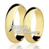 Alianças em ouro 18k 750 brasilia