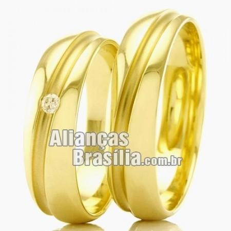 Alianças de casamento e noivado DF