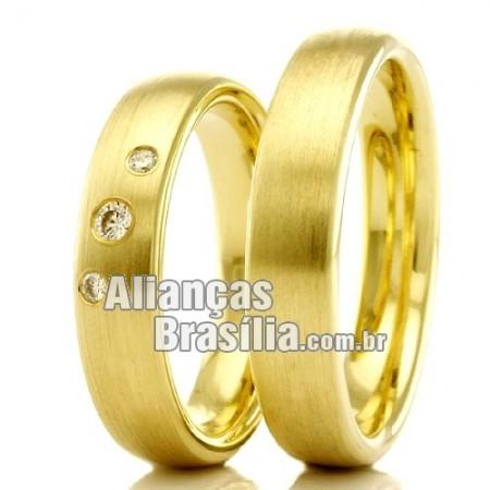 Alianças Brasilia para casamento