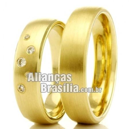 Alianças de casamento e noivado brasilia