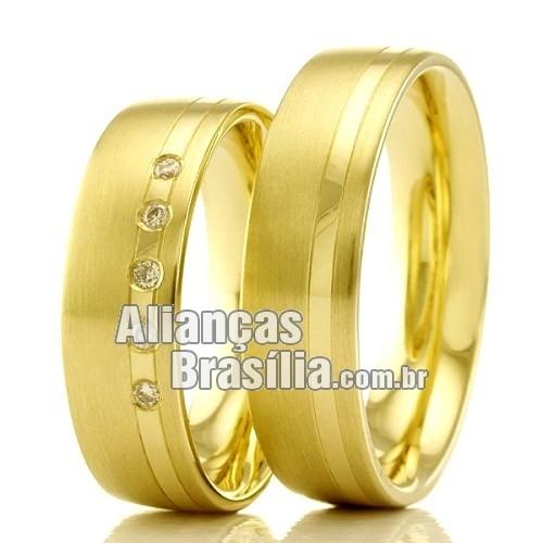 c59376b9a Alianças Brasilia de casamento e noivado - Alianças Brasília